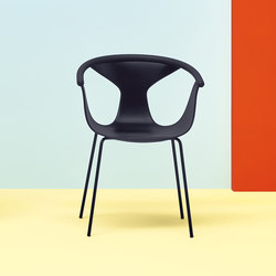 Fox armchair 3726 | Restaurant chairs | PEDRALI