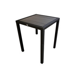Aria Bar Table With Faux Wood  Top | Dining tables | Kannoa