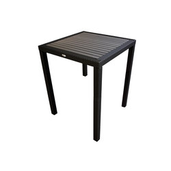 Aria Counter Height Table With Faux Wood  Top | Garten-Esstische | Kannoa