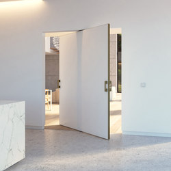 Portapivot 5045 XL | bronze anodized | Internal doors | PortaPivot & PORTAPIVOT 5045 XL | SILVER ANODIZED - Internal doors from ...
