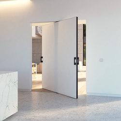 Portapivot 5045 XL | black anodized | Internal doors | PortaPivot