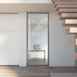 Portapivot 6530 | silver anodized | Internal doors | PortaPivot