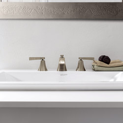Finezza - Three-hole washbasin mixer | Wash basin taps | Graff