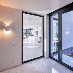Portapivot 6530 XL | black anodized | Puertas de interior | PortaPivot