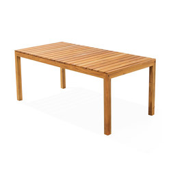 Cali Rectangular Dining Table | Dining tables | Kannoa