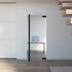 Portapivot Glass | black anodized | Puertas de interior | PortaPivot
