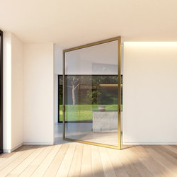 Portapivot 6530 XL | bronze anodized | Internal doors | PortaPivot