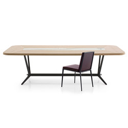 Astrum Rectangular table | Dining tables | Maxalto