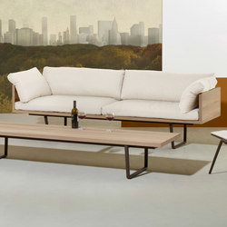 New Wood Plan Sofa | Sofas | Fast