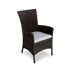 Marbella Dining Chair With Arms | Gartenstühle | Kannoa
