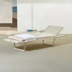 New Wood Plan Chaise-longue | Méridiennes de jardin | Fast