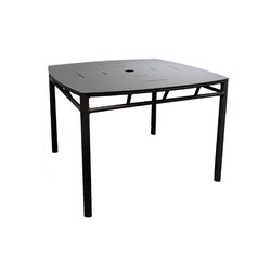 Oslo Square Dining Table | Garten-Esstische | Kannoa
