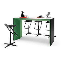 Winea Plus | Panelleg tabel | Standing tables | WINI Büromöbel