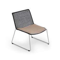 Slope Lounge Chair with Cushion | Poltrone da giardino | Weishäupl