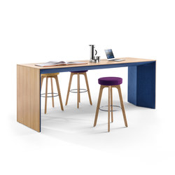 Winea Plus | Panelleg table | Escritorios individuales | WINI Büromöbel