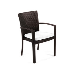 Senna Dining Chair With Arms | Gartenstühle | Kannoa