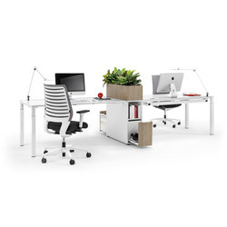 Winea Slim | Systèmes de tables de bureau | WINI Büromöbel