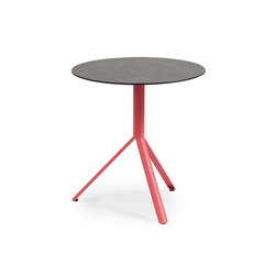Trio Bistro Table, Tabletop HPL | Cafeteria tables | Weishäupl