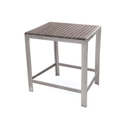 Sicilia Square Bar Table | Garten-Bartische | Kannoa
