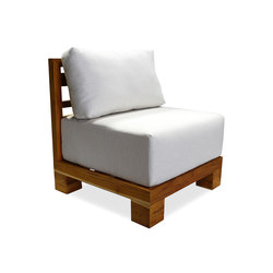 Sunset Middle Unit | Garden armchairs | Kannoa