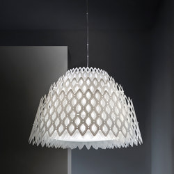 Charlotte Half suspension | General lighting | Slamp
