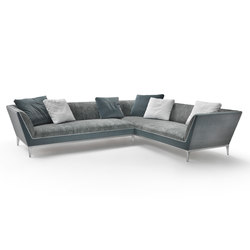 Mr. Wilde Sectional Sofa | Modular sofa systems | Flexform Mood