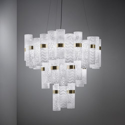 La Lollo XL suspension | Suspended lights | Slamp