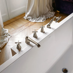 Finezza - Deck-mounted bathtubset | Bath taps | Graff