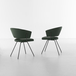 Bahia | Visitors chairs / Side chairs | Bonaldo