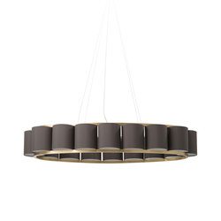 Bibendum Oval Chandelier | General lighting | Martin Huxford Studio