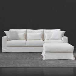 Borgonuovo Sofa, Pouf | Lounge sofas | Flou