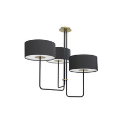 T59 Trio Chandelier | Suspended lights | Martin Huxford Studio
