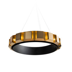 Aperture Chandelier | Suspended lights | Martin Huxford Studio