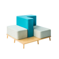Podia | Platform | Seating islands | Luxxbox