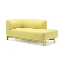 Elephant Sofa Chaise Longue L | Méridiennes | Karimoku New Standard