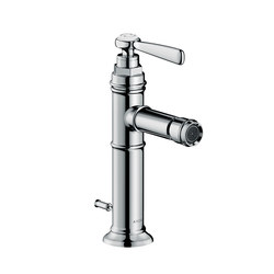 AXOR Montreux Single lever bidet mixer with pop-up waste set | Bidet taps | AXOR