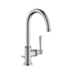 AXOR Montreux Single lever basin mixer 210 with pop-up waste set | Wash basin taps | AXOR