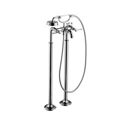 AXOR Montreux 2-handle bath mixer floor-standing with lever handles | Bath taps | AXOR