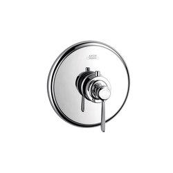 AXOR Montreux Thermostatic mixer highflow 59 l/min for concealed installation with lever handle | Shower taps / mixers | AXOR