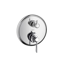 AXOR Montreux Thermostatic mixer for concealed installation with shut-off valve with lever handle | Shower controls | AXOR