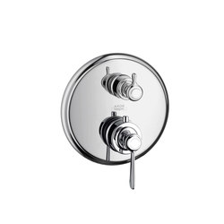 AXOR Montreux Thermostatic mixer for concealed installation with shut-off/ diverter valve and lever handle | Shower controls | AXOR