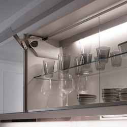 UMBRA-E Interior light in cascade | Kitchen cabinets | Santos