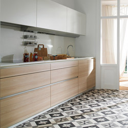 LINE-E Ivory Ash | Cucine a parete | Santos