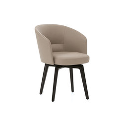 Amélie Armchair | Visitors chairs / Side chairs | Minotti