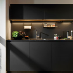 LINE Silk Reduced thickness | Fitted kitchens | Santos
