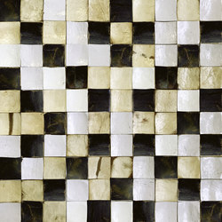 Coco Shells | Camarines RM 942 02 | Coconut mosaics | Elitis