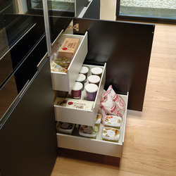 LINE Interior drawers | Kitchen organization | Santos