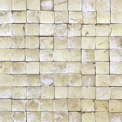 Coco Shells | Palawan RM 940 01 | Wall coverings / wallpapers | Elitis