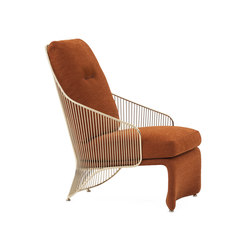 Colette Armchair | Lounge chairs | Minotti