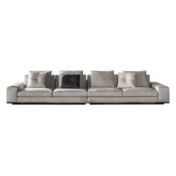 Lawrence Seating System | Divani | Minotti